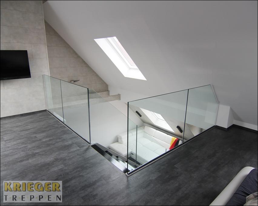 Glasgeländer Treppe glasgeländer für ihre treppe ganzglasgeländer