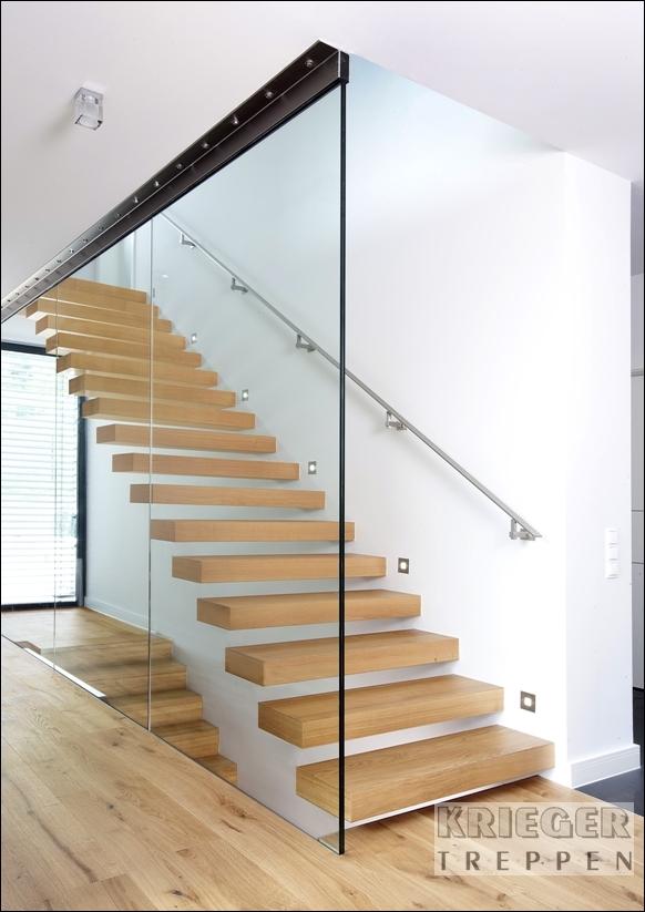 Glasgel nder f r ihre treppe ganzglasgel nder - Glaswande innen ...