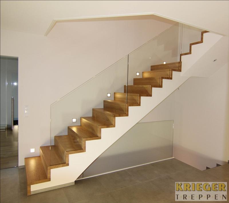 Glasgel nder f r ihre treppe ganzglasgel nder - Betontreppe kaufen ...