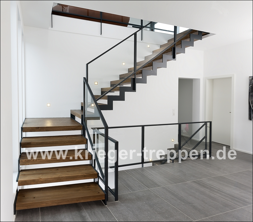 stahl holztreppen von krieger treppen. Black Bedroom Furniture Sets. Home Design Ideas