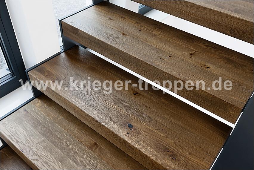 Stahl Holz Treppe stahl holztreppen krieger treppen