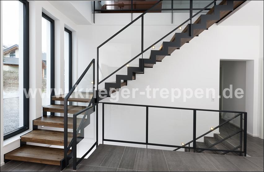 Stahl Holztreppen Von Krieger Treppen