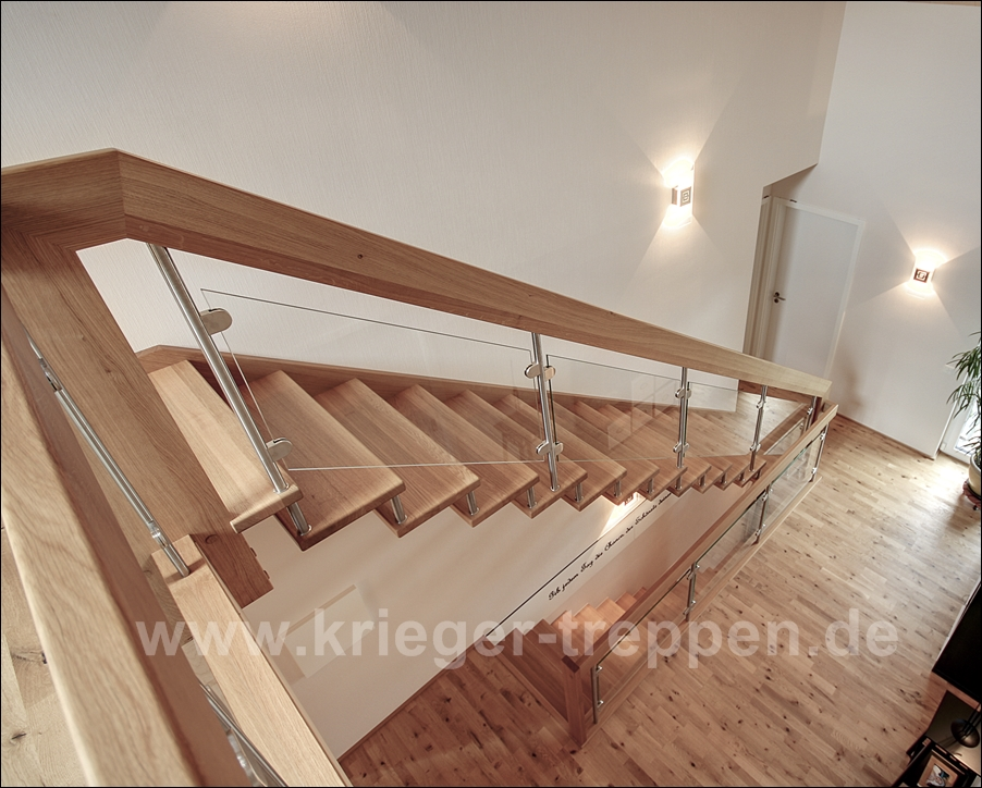 freitragende treppen von krieger treppen. Black Bedroom Furniture Sets. Home Design Ideas